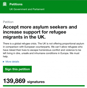 Petition Signed, whew, conscience clear