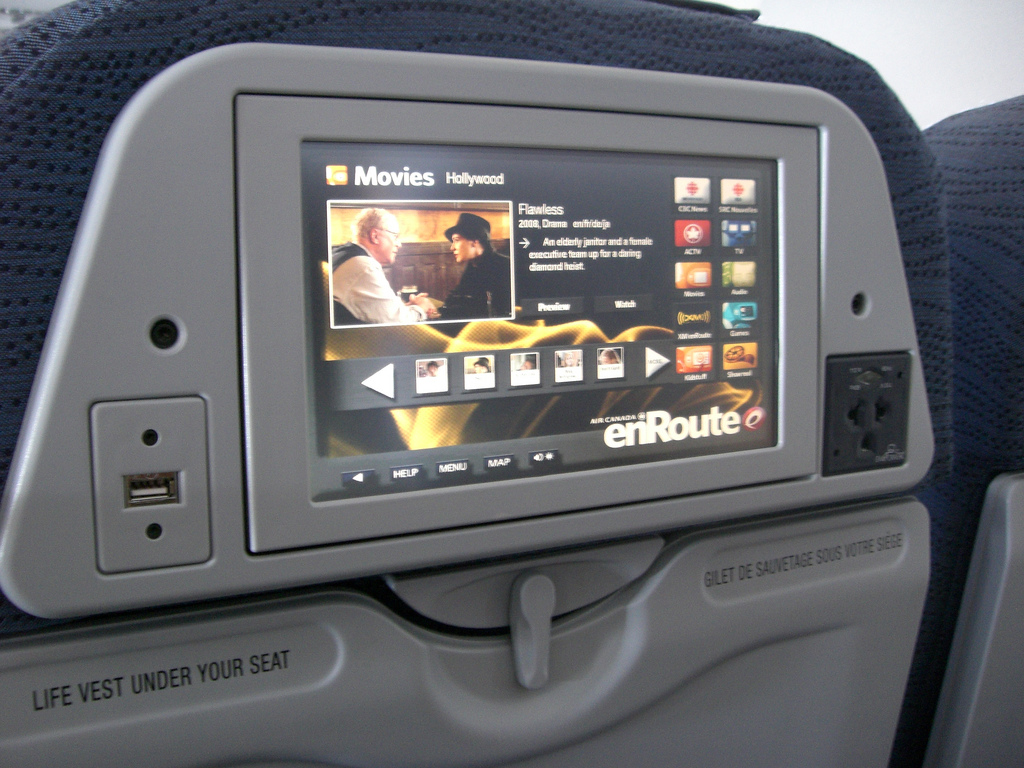 Does anyone use in flight entertainment these days anyway?