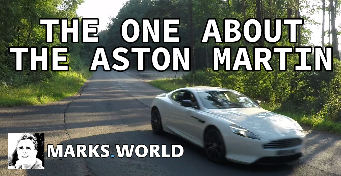 The One About…The Aston Martin